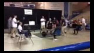 Special Olympics powerlifting 34