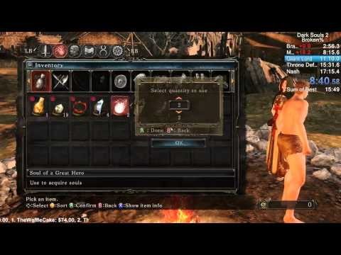Dark Souls II in 16:20
