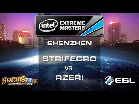 StrifeCro vs. Azeri - Quarterfinals - IEM Shenzhen - Hearthstone