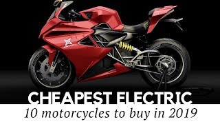 Top 10 Electric Motorcycles that Are Actually Affordable Starting at $2,300