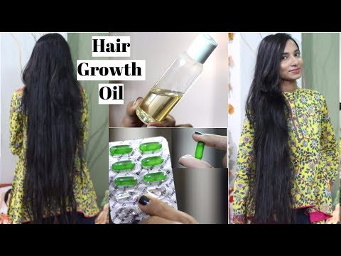 Evion 400 Hair Oil For Super Fast Hair Growth  How to Use Vitamin E Capsules to Stop HairFall