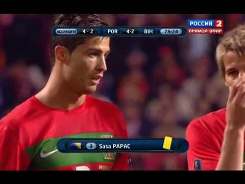 Гол Велозу в матче Португалия - Босния и Герцеговинa 5:2