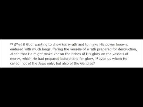 Israel's Rejection of Christ - Romans 9 and 10v 1 13