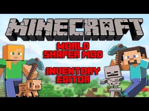 Minecraft: PE - Install Worldshaper Mod Tutorial - Inventory Editor. Developer Settings. & more!