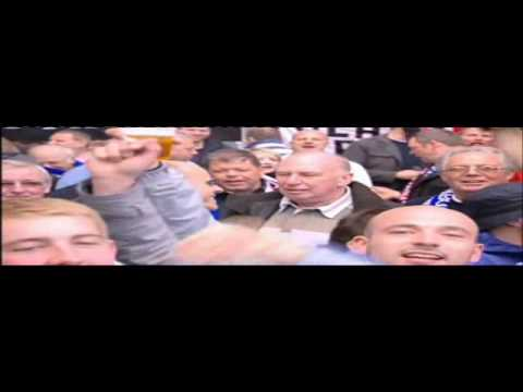 Fulham Fans on BBC London News pre Hamburg 1st Leg - 22 April 2010