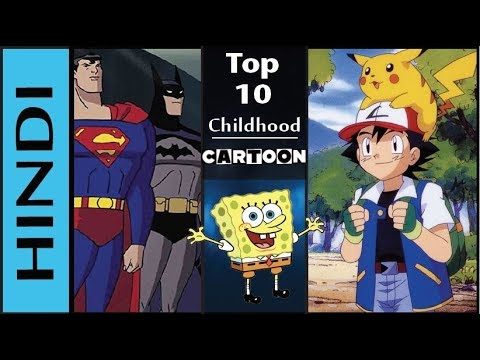 Top 10 Childhood Cartoon Shows In Hindi | All Old Cartoon Shows In Hindi | 90's Cartoons In HINDI