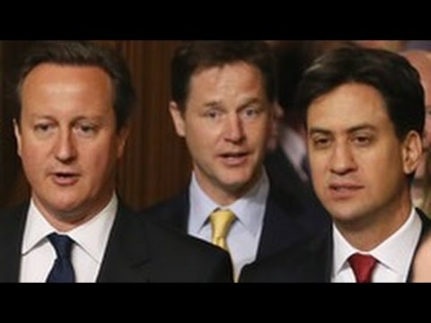 Cameron Clegg and Miliband Panic over Scotland and go AWOL from House of Commons