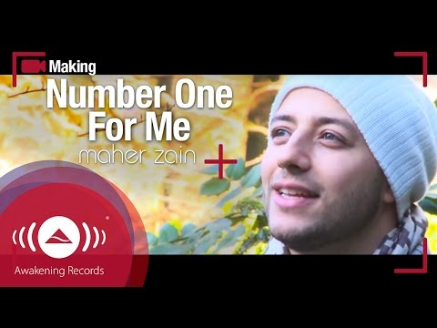Maher Zain - Making Of Number One For Me music video