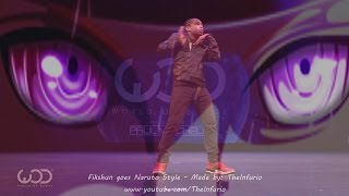 Fikshun goes NARUTO STYLE - World of Dance 2016 Hawaii