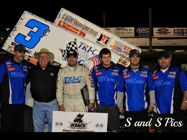 """Salute to Baylands"" Petaluma Speedway - King of the West Sprint Car Series"