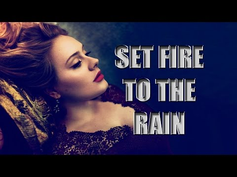 Adele - Set Fire To The Rain (Spanish Sub) Music Videos