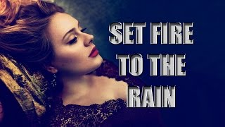 Adele - Set Fire To The Rain [Sub Español]