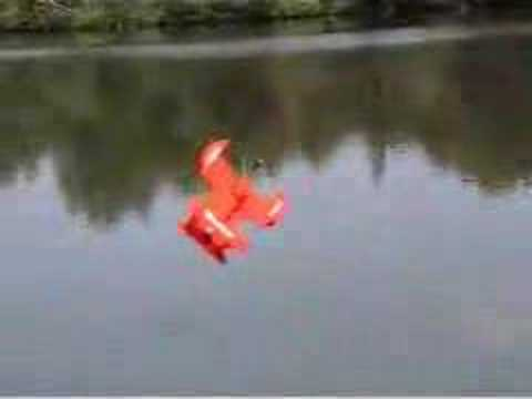 Graupner hydroplane rc flying boat