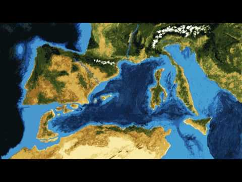 The Formation of the Mediterranean Sea