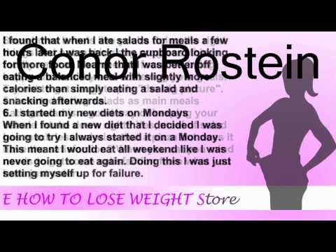 8 mistakes I made while trying to lose weight   How To Lose Weight Fast