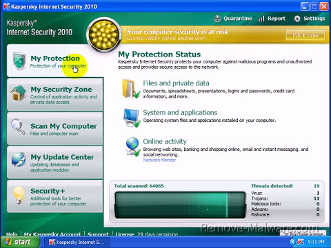 Kaspersky Internet Security 2010 Review Part 2