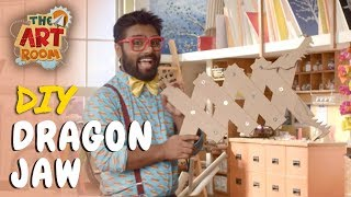 The Art Room - Dragon Jaw | Best out of Waste | Easy DIY Crafts for Kids