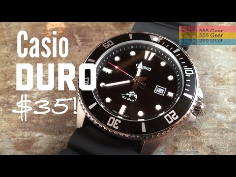Review: Casio Duro Marlin MDV106-1A