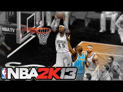 NBA 2K13 Team Up w/Subs: Brooklyn Nets vs New Orleans Hornets