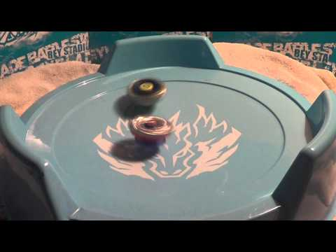 Beyblade Samurai Ifraid/Ifrit W145CF vs Big Bang/Cosmic Pegasis F:D
