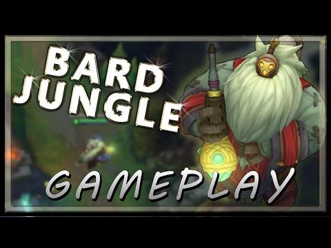 Bard Gameplay Jungle - League of legends