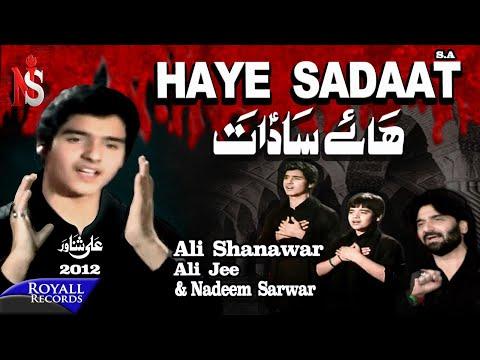 Nadeem Sarwar | Haye Sadaat | 2012 video