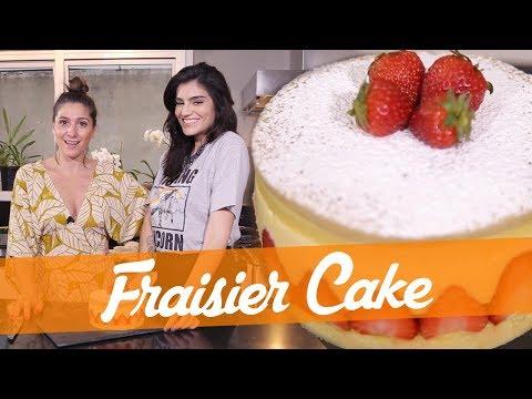 Fraisier Cake - Receita do Bake Off Brasil