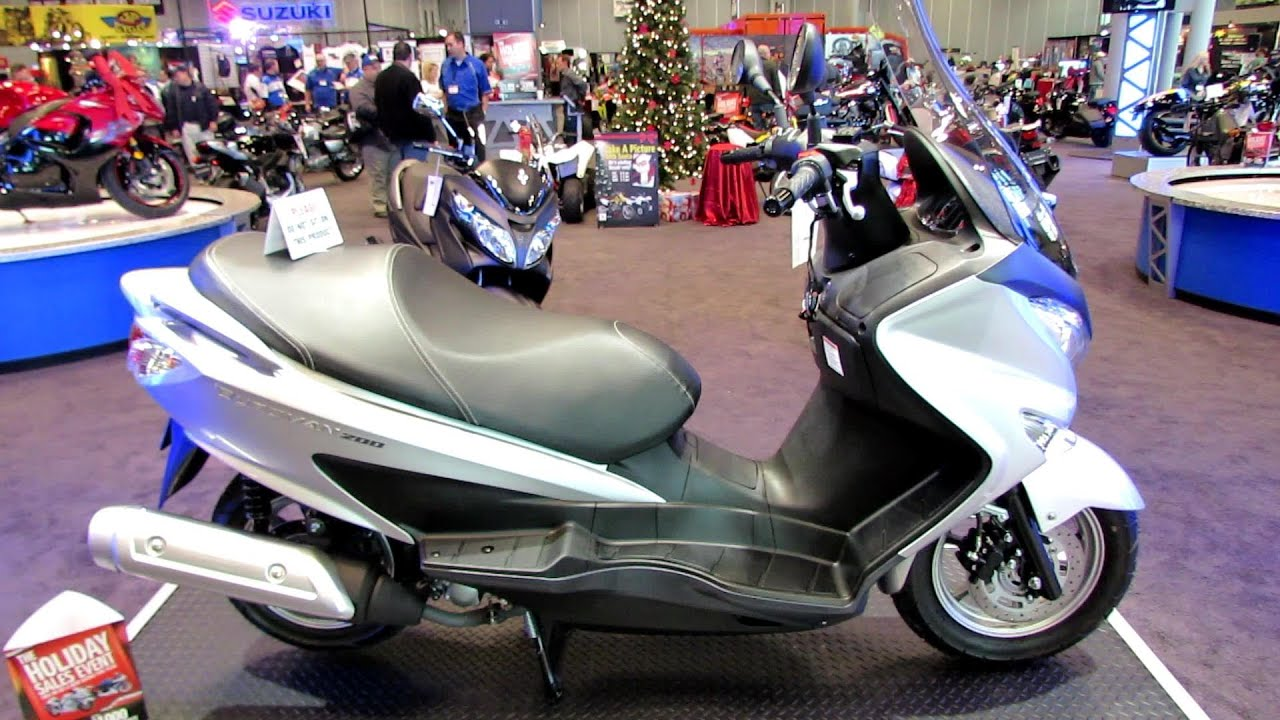 2014 suzuki burgman 200 walkaround 2013 new york. Black Bedroom Furniture Sets. Home Design Ideas