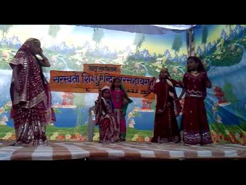 Bhavan Rangeela Maa Ka Sher ''sarswati Shishu Mandir'' Gursahaiganj video