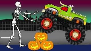 El Carro De Monstruo De Halloween  Vehculos Para N