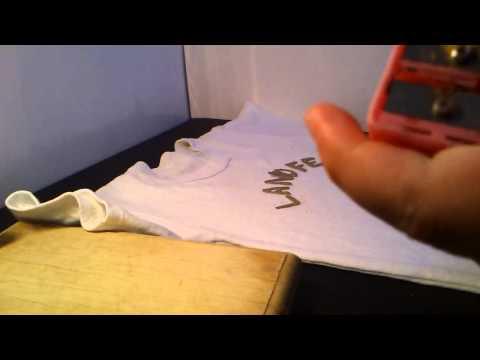 Cómo estampar camisetas - Estampados de camisetas caseros