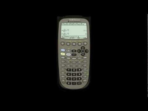 Calculus on the TI-89