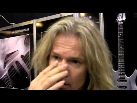 Namm 2011 Adrian Vandenberg interview with customguitarboutique.com