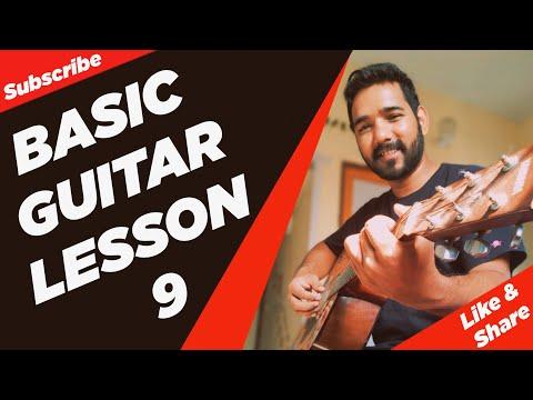 download lagu Basic Guitar Lesson 9 How To Play Bar Chords gratis
