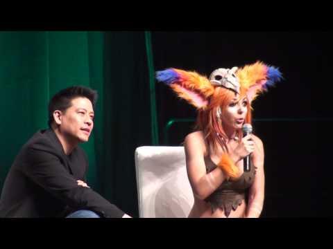 2014 Edmonton Expo  Jessica Nigri Panel