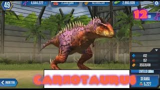 Jurassic World - LEVEL 40 CARNOTAURUS