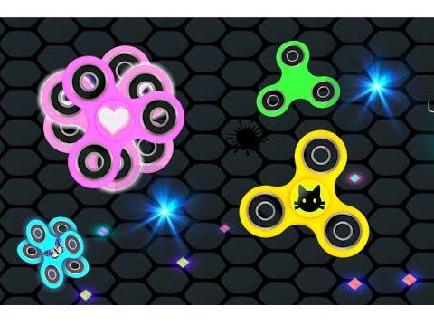 РАСКРУТИ свой СПИНЕР #2 игра как Слизарио развлекательное видео детям  про fidget spinner games