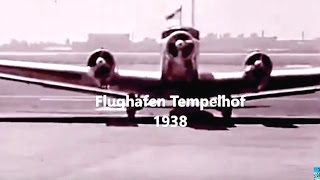 "Berlin Airport""Ju 52""Tempelhof 1938:""Evelyn""+US.Pr.Barack Obama_16.11.2016 ""Erika ?"" Airport Tegel."