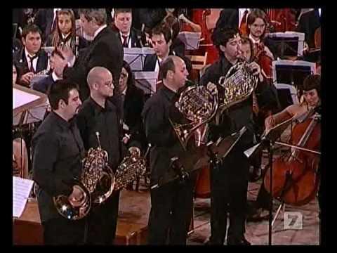 Concierto para 4 Trompas 2/2 - R. Schumann - CIM La Armonica de Buñol - El Li...