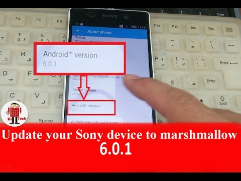 How to Update Your Sony Device to Marshmallow 6.0.1