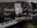 CAST ALL YOUR CARES BY GARY OLIVER ( PIANO TUTORIAL in E FLAT)