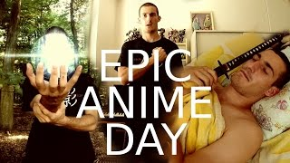 Epic Anime Day REAL LIFE (Naruto, Tokyo Ghoul, DBZ, Fairy Tail,...)