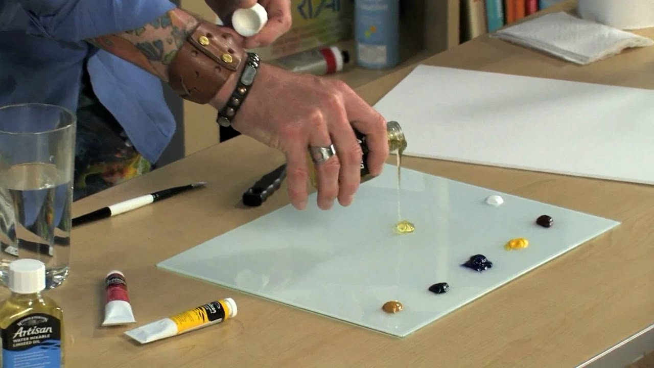 Water Soluble Oil Paint Ingredients