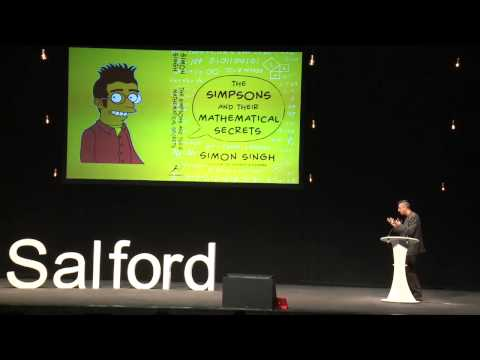 Homer's Last Theorem : Simon Singh at TEDxSalford 2013