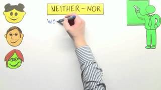 either - or, neither - nor, both - and: Übung | Englisch | Grammatik