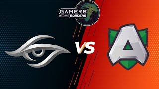 🛑[Dota 2 LIVE] Team Secret vs Alliance (Bo3)Gamers Without Borders 2020 English Caster