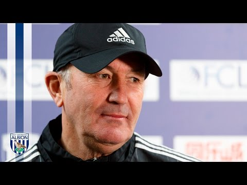 PRESS CONFERENCE: Tony Pulis speaks to the media ahead of Sunderland