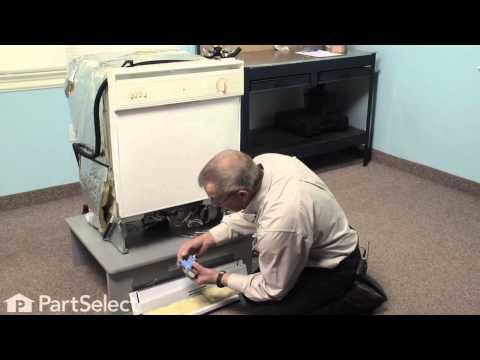 Dishwasher Repair- Replacing the Water Inlet Valve (Whirlpool Part # 99001359)