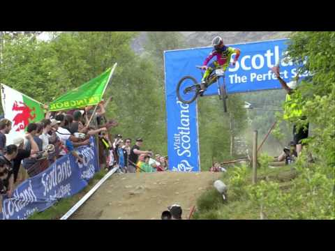 Downhill Double for Atherton Family at Fort William - 2013 UCI Mountain Bike World Cup