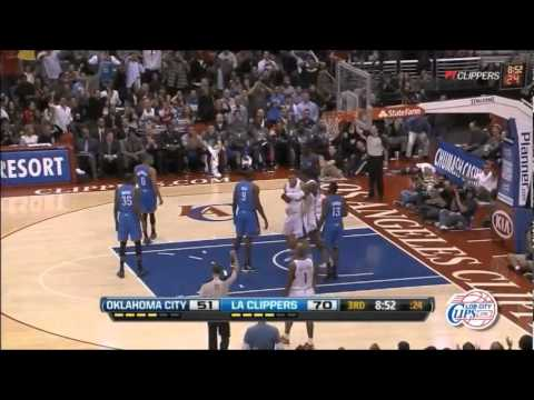 Clippers Vs. Thunder Highlights 01.30.2012